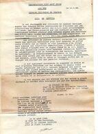 C14 1944 Mission De Liaison Tactique(français) Aupres De US ARMY  12 E Groupe D'armée APO 655 - Marcophilie (Lettres)