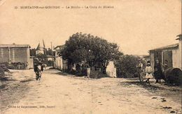 D17  MORTAGNE SUR GIRONDE  Le Moulin La Croix De Mission   ......................   Carte Peu Courante - France