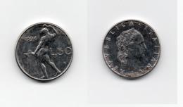 50 Lire – Italie – 1994 – Vulcain – Petit Format -Acier – Etat TTB – KM 95.2 - 1946-… : República