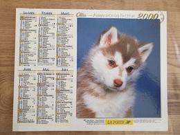 Calendrier-Almanach Des Postes P.T.T.     2000     Eure - Grand Format : 1991-00