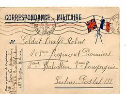 C14 1939 Carte En FM Pour SP 133 - Marcophilie (Lettres)