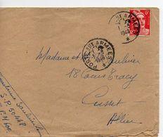 C14 1948 Lettre En FM Pour SP 50448 BPM 600 - Marcophilie (Lettres)