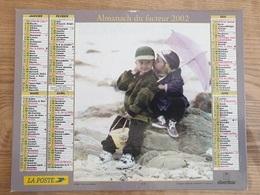 Calendrier-Almanach Des Postes P.T.T.     2002     Eure - Kalender