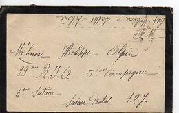 C14 1939 Lettre + COURRIER En FM Pour SP 127 - Marcophilie (Lettres)
