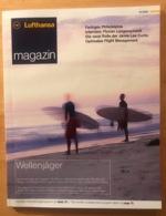 LUFTHANSA INFLIGHT MAGAZINE 01/2004 With Inflight Entertaining Programme - Inflight Magazines