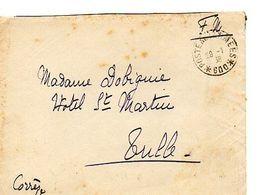 C14 1938 Lettre  En FM Pour SP 600 - Marcophilie (Lettres)