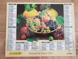 Calendrier-Almanach Des Postes P.T.T.     2004     Eure - Kalender