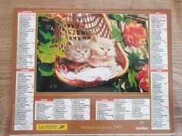 Calendrier-Almanach Des Postes P.T.T.     2005     Eure - Kalender