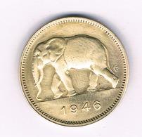 2  FRANCS 1946  BELGISCH  CONGO /6285/ - Congo (Belge) & Ruanda-Urundi