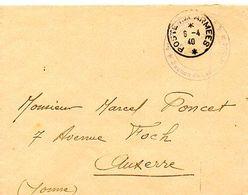 C14 1940 Lettre  En FM - Marcophilie (Lettres)