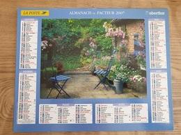 Calendrier-Almanach Des Postes P.T.T.     2007     Eure - Kalender