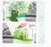 2016 ,  MOLDOVA ,  MOLDAVIE , EUROPA CEPT , THINK GREEN , Set , MNH - Europa-CEPT