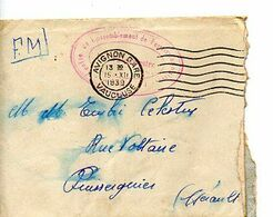 C14 1939 Lettre + COURRIER En FM Du SP 324 Cachet Centre De Rassemblement...... - Marcophilie (Lettres)