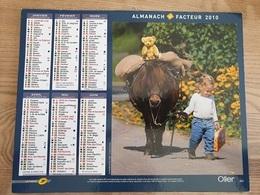 Calendrier-Almanach Des Postes P.T.T.     2010     Eure - Kalender