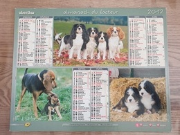 Calendrier-Almanach Des Postes P.T.T.     2012    Eure - Kalender