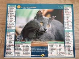 Calendrier-Almanach Des Postes P.T.T.     2013    Eure - Kalender