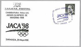 CANDIDATURA De JACA A JUEGOS OLIMPICOS 1998 - Candidature Of Jaca. Zaragoza, Aragon, 1990 - Unclassified