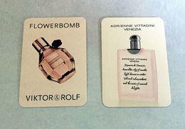 Lot 2 Cartes Parfumées Avec Patch - Modern (vanaf 1961)