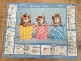 Calendrier-Almanach Des Postes P.T.T.     2015    Eure - Kalender