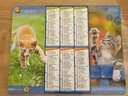 Calendrier-Almanach Des Postes P.T.T.     2016    Eure - Kalender