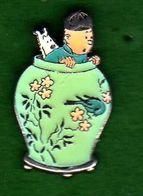 Pin's BD Tintin Hergé Corner Coinderoux 60 EGF - Comics