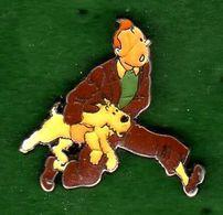 Pin's BD Tintin Hergé Corner Coinderoux 77 EGF - Comics
