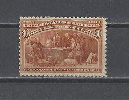 ETATS-UNIS.  YT N° 90  Neuf *   1893 - Unused Stamps