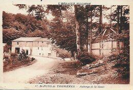 34)   SAINT  PONS De THOMIERES  -  Auberge De La Jante - Saint-Pons-de-Thomières