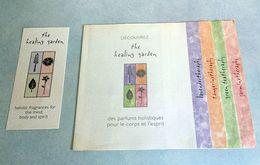 "Livret ""HOLISTIC FRAGRANCES"" Et Sa Carte à Parfumer - Modern (vanaf 1961)"