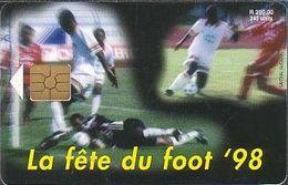 Mauritius Chip Mau 35  Fußball- Weltmeisterschaft 1998 - 240 Units - Maurice