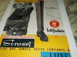 ANCIENNE PUBLICITE LUI VOUS AIME MAGASIN  BELLE JARDINIERE  1958 - Other