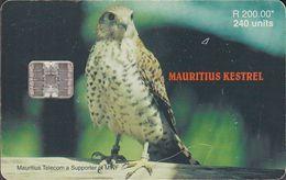 Mauritius Chip Mau 41 Raubvogel - Bird - 240 Units - Maurice