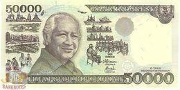 INDONESIA 50000 RUPIAH 1998 PICK 136d UNC - Indonesien
