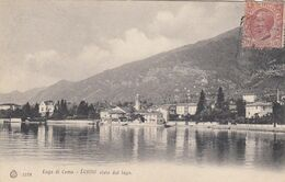 LENNO-COMO-LAGO DI COMO CARTOLINA VIAGGIATA.IL 21-9-1907 - Como