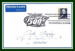 USA 85é INDIANAPOLIS 2001 /N° 2194 Scott >  France TB Automobile Voiture Course Formule 1 F1 - Cars