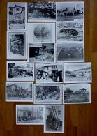 LOT DE 16 PHOTOS CARTES POSTALES METIERS ( LYON-69 ) - Riproduzioni