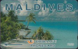 Maldiven - M-2a - Beach - 2MLDA - Mint - Maldives