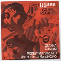 """Osanna E M. Mussorgskij  (1972)  """"Una Notte Sul Monte Calvo  -- Canzona """" - Vinyles"""