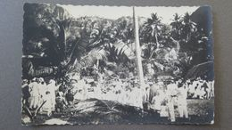SEYCHELLES - SEYCHELLEN INSELN - REPOSOIR AU MILIEU DE LA PROPRIÉTÉ - CASCADE 3 JUIN 1923 - RPPC - Seychelles