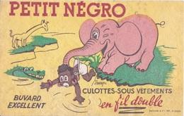 BUVARD -LE PETIT NEGRO  CULOTTE - SOUS-VETEMENTS - EN FILS DOUBLE -  ELEPHANT JEUNE FILLE NOIRE GIRAFE CROCODILE - Vestiario & Tessile
