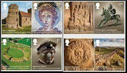 GROSSBRITANNIEN GRANDE BRETAGNE GB 2020 ROMAN BRITAIN SET 8V. MNH SG 4369-76 MI 4591-98 YT 5006-13 - 1952-.... (Elisabeth II.)