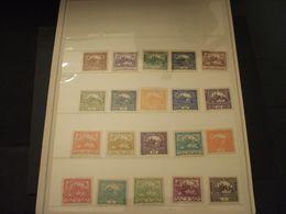 CECOSLOVACCHIA - 1918/20 INSIEME, VEDUTE 20 VALORI - NUOVI(+) - Neufs