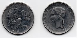 100 Lire – Italie – 1979 – F.A.O. – Acier – Etat TTB – KM 106 - 1946-… : Republic