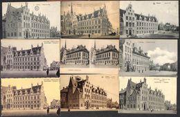 Malines - Mechelen -  Lot 37 Verschillende Kaarten Stadhuis Postbureel - Mechelen