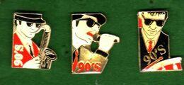 3 Pin's Musique Cigarette Winston 90's - Music