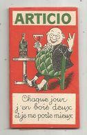 Papier à Cigarette , ARTICIO , 2 Scans, L'apéritif Du Foie - Raucherutensilien (ausser Tabak)