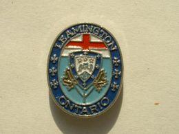Pin's LEAMINGTON - ONTARIO - BLASON - Cities