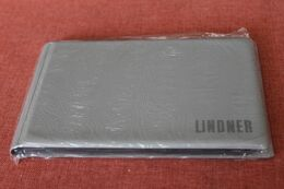 Münzen Taschenalbum, Münzen Pocketalbum, Münzen Tauschalbum, LINDNER, Grau, OVP - Materiale
