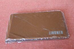 Münzen Taschenalbum, Münzen Pocketalbum, Münzen Tauschalbum, LINDNER, Braun, OVP - Materiale