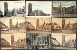 Malines - Mechelen -  Lot 46 Verschillende Kaarten St Rombouts Kathedraal - Mechelen